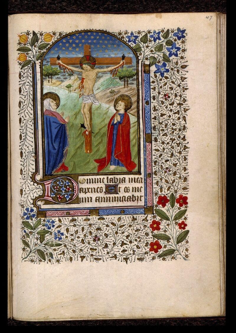 Angers, Bibl. mun., ms. 2047, f. 047 - vue 1