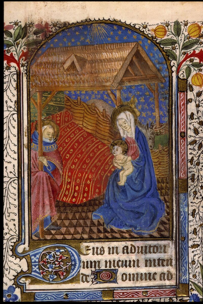Angers, Bibl. mun., ms. 2047, f. 050 - vue 2