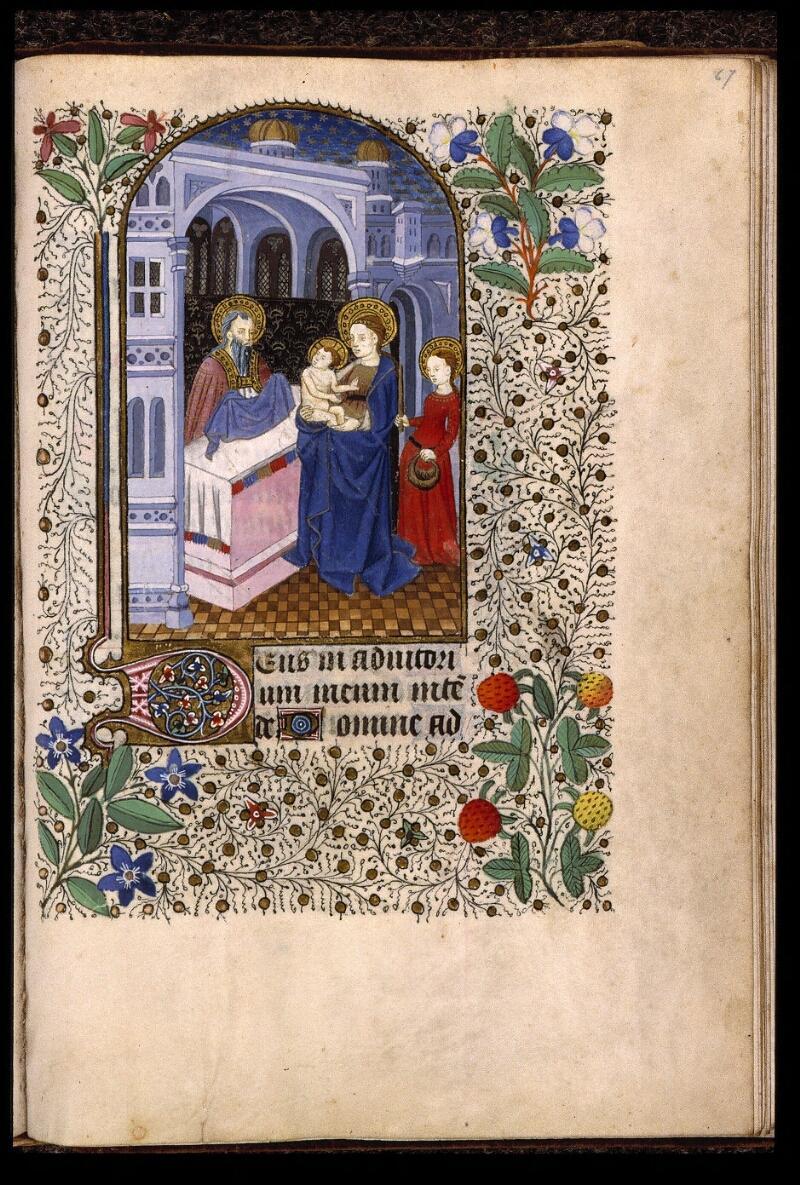 Angers, Bibl. mun., ms. 2047, f. 067 - vue 1