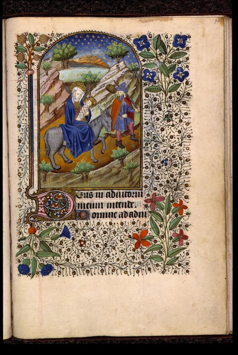 Angers, Bibl. mun., ms. 2047, f. 071 - vue 1