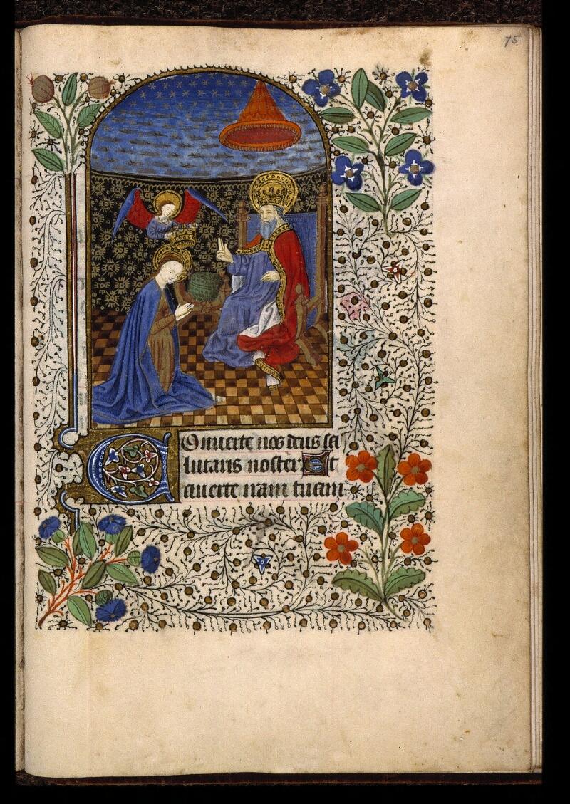 Angers, Bibl. mun., ms. 2047, f. 075 - vue 1