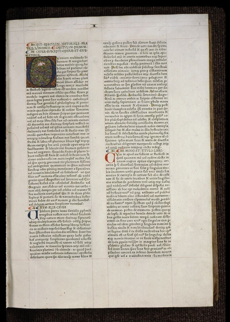 Angers, Bibl. mun., B 3258, t. I, f. 003 - vue 2