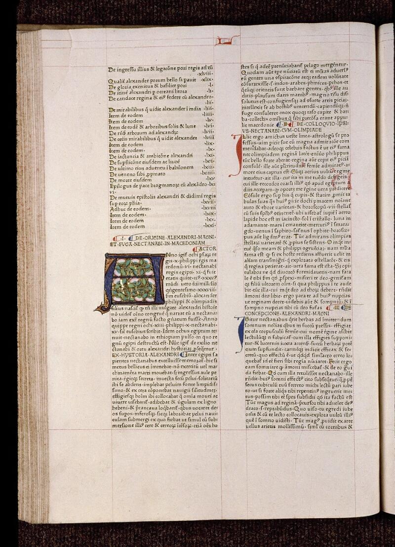 Angers, Bibl. mun., B 3258, t. I, f. 091v - vue 1