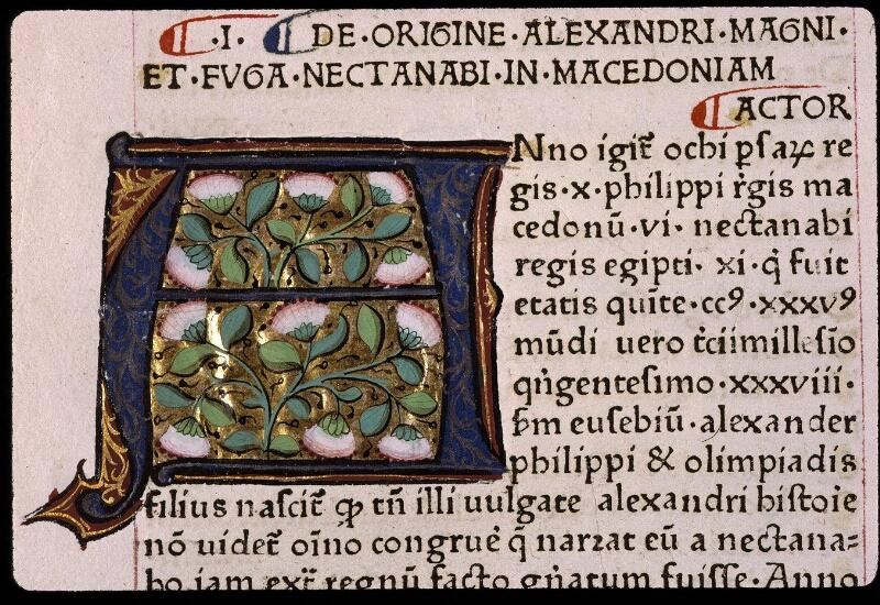 Angers, Bibl. mun., B 3258, t. I, f. 091v - vue 2