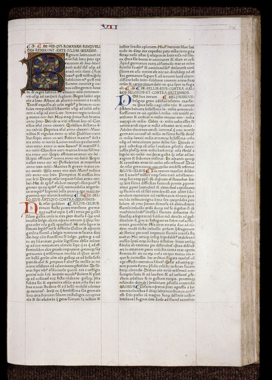 Angers, Bibl. mun., B 3258, t. I, f. 121 - vue 1