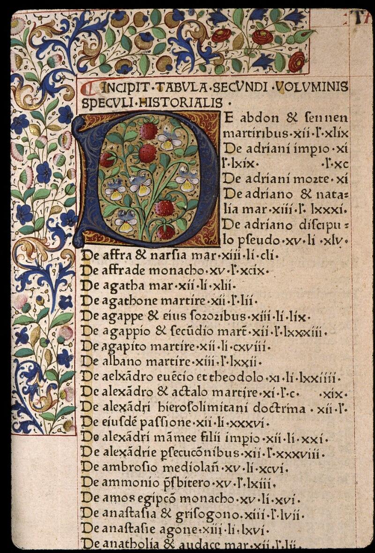 Angers, Bibl. mun., B 3258, t. II, f. 001 - vue 3