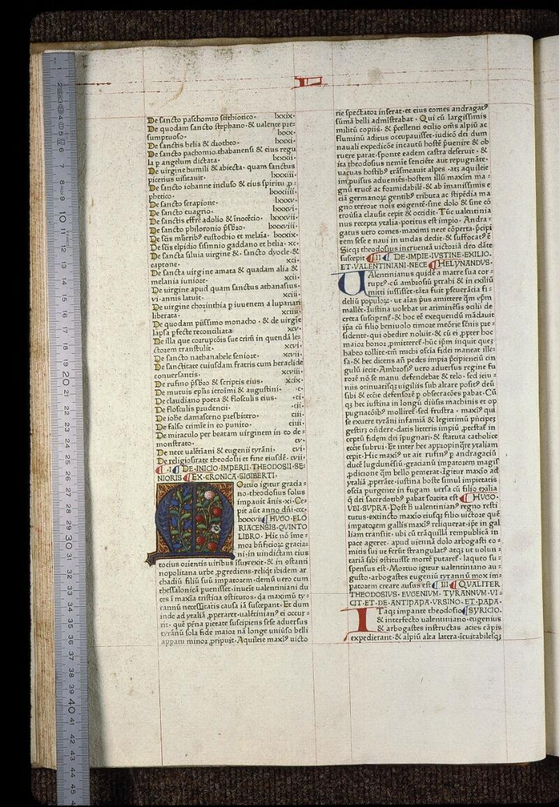 Angers, Bibl. mun., B 3258, t. III, f. 024v - vue 1