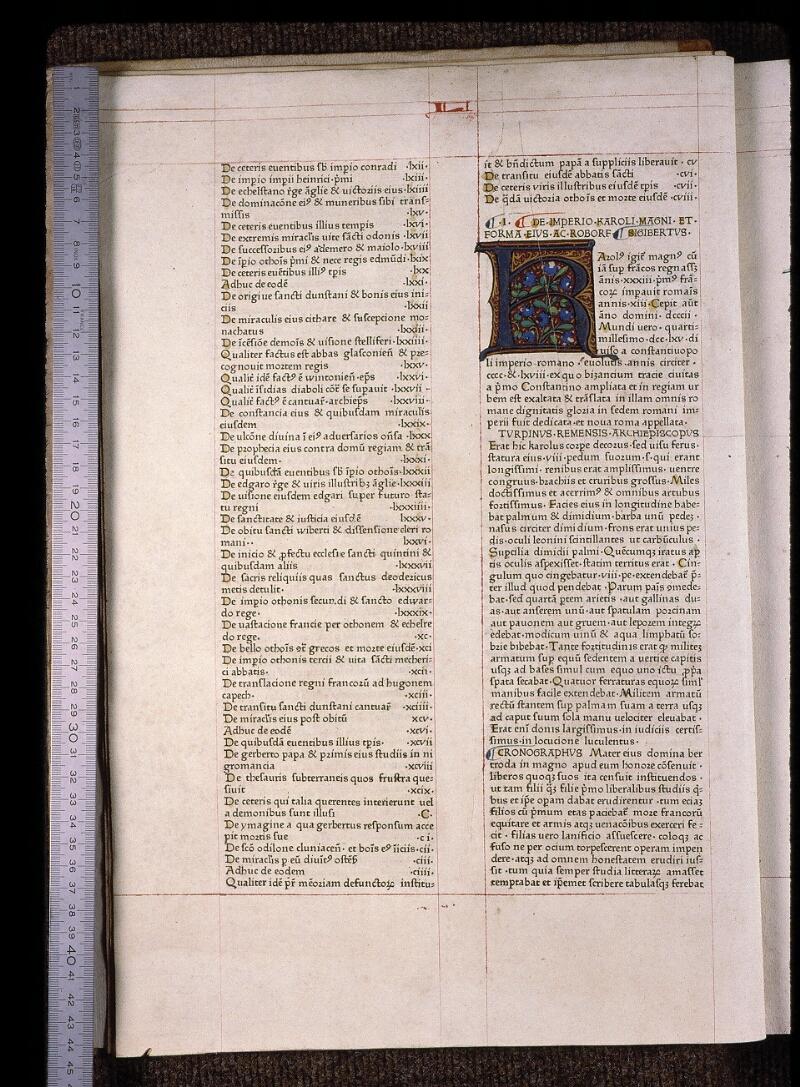 Angers, Bibl. mun., B 3258, t. IV, f. 002v - vue 1