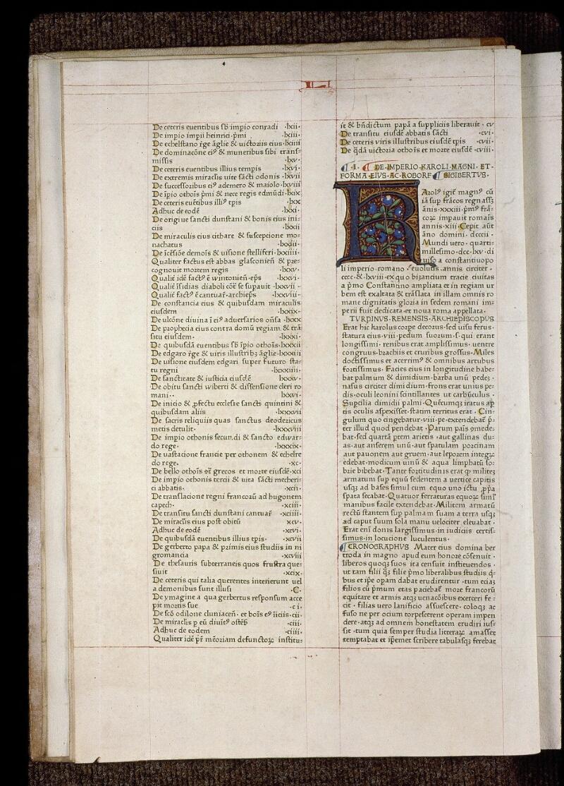 Angers, Bibl. mun., B 3258, t. IV, f. 002v - vue 2