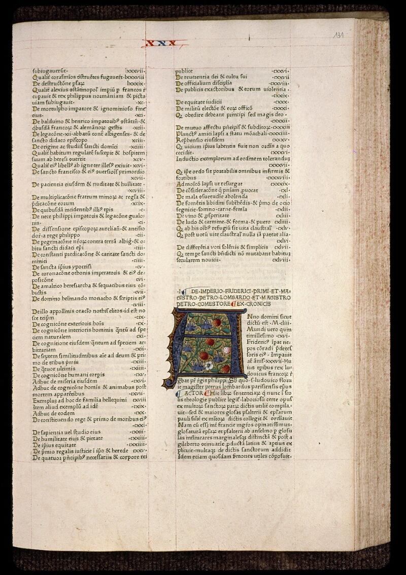 Angers, Bibl. mun., B 3258, t. IV, f. 131 - vue 1