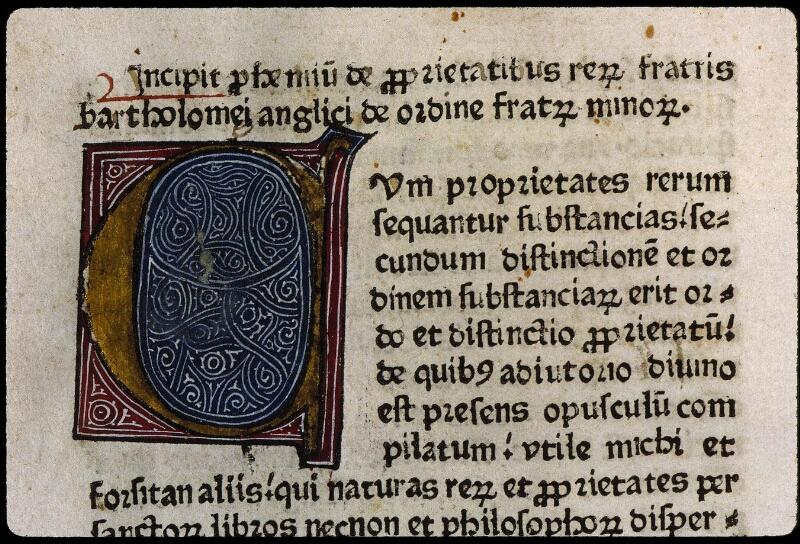 Angers, Bibl. mun., B 3261, f. 001 - vue 3