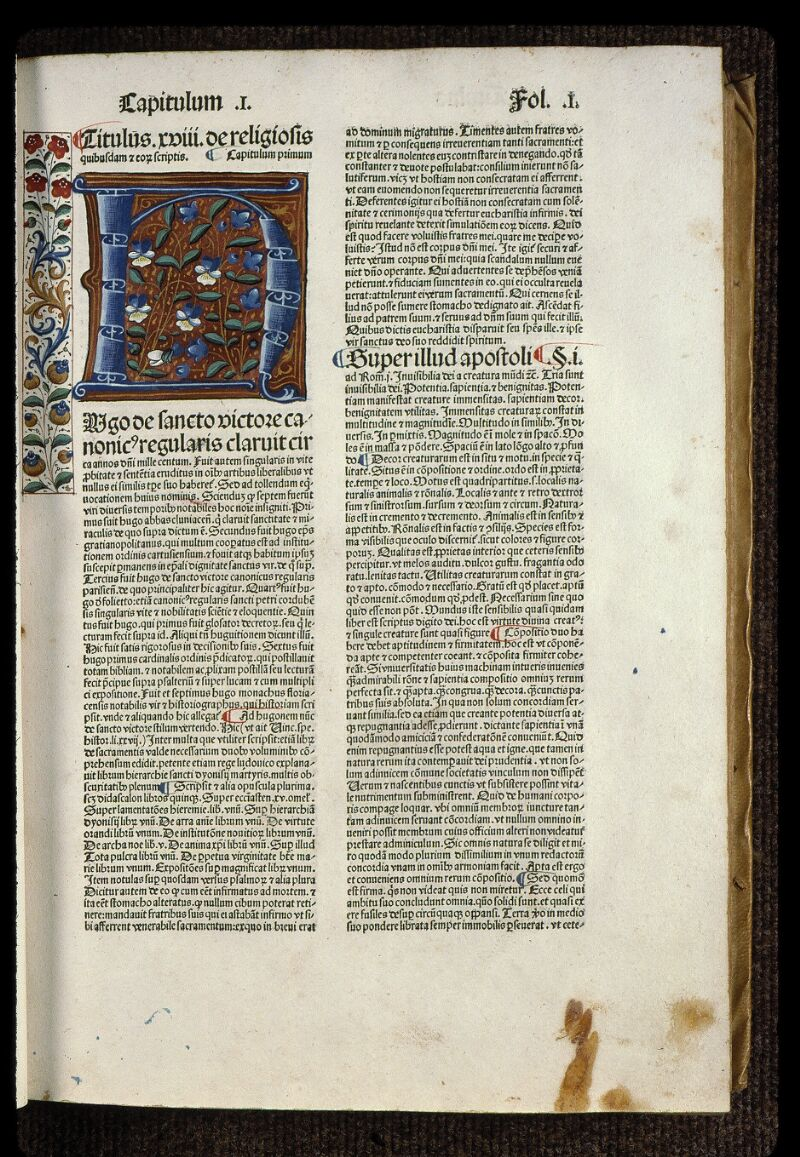 Angers, Bibl. mun., H 0724, t. II, f. 001 - vue 2