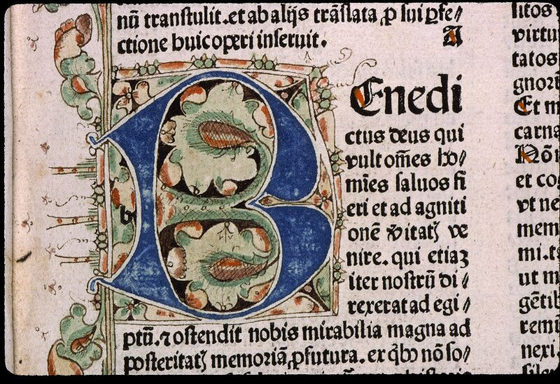 Angers, Bibl. mun., H 3024, f. 001 - vue 3