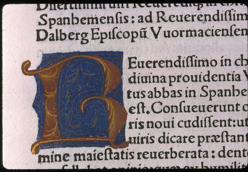 Angers, Bibl. mun., H 5147, f. 001 - vue 3