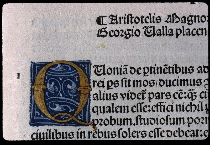 Angers, Bibl. mun., SA 0422, f. 106 - vue 2
