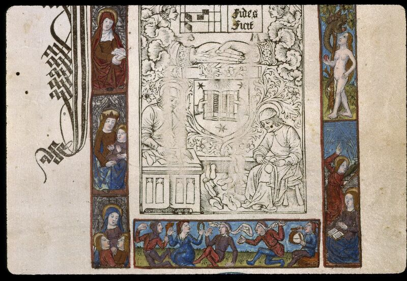 Angers, Bibl. mun., SA 3390, f. 001 - vue 3