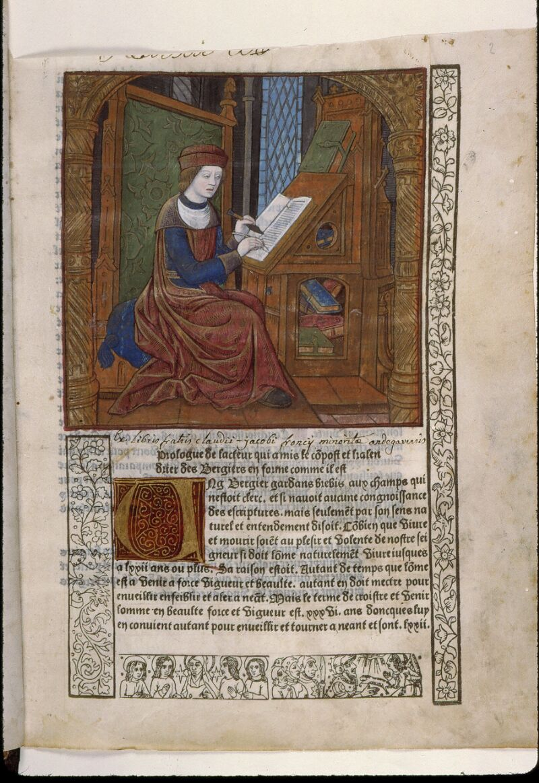 Angers, Bibl. mun., SA 3390, f. 002 - vue 1