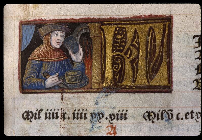 Angers, Bibl. mun., SA 3390, f. 009 - vue 1