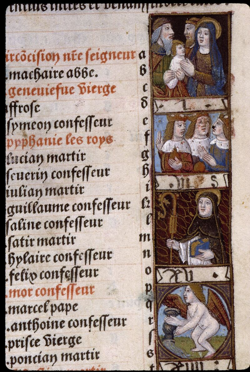 Angers, Bibl. mun., SA 3390, f. 009 - vue 2