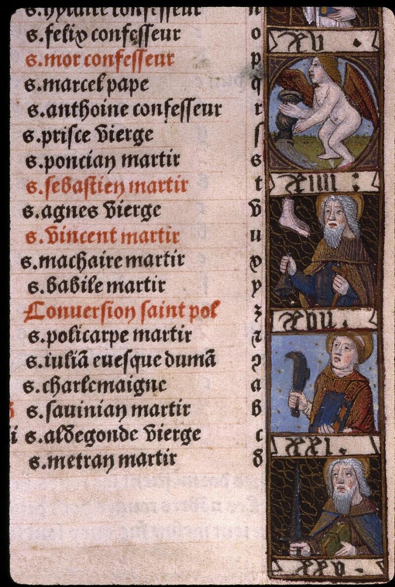 Angers, Bibl. mun., SA 3390, f. 009 - vue 3