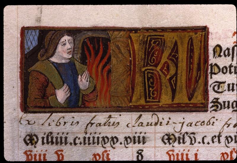 Angers, Bibl. mun., SA 3390, f. 009v - vue 1
