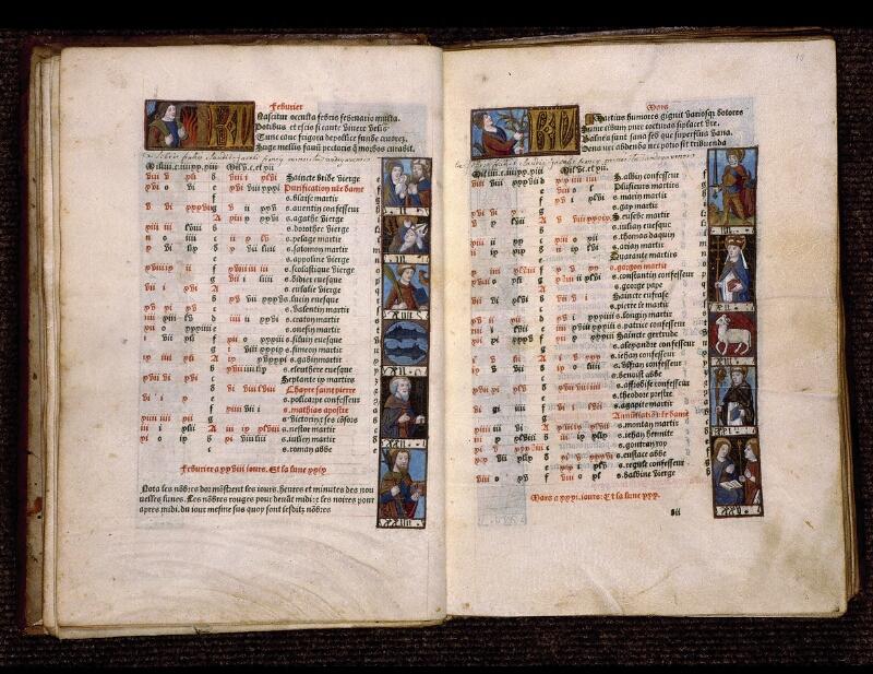 Angers, Bibl. mun., SA 3390, f. 009v-010