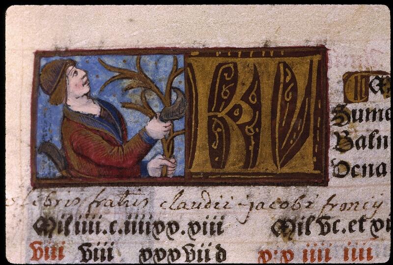Angers, Bibl. mun., SA 3390, f. 010 - vue 1