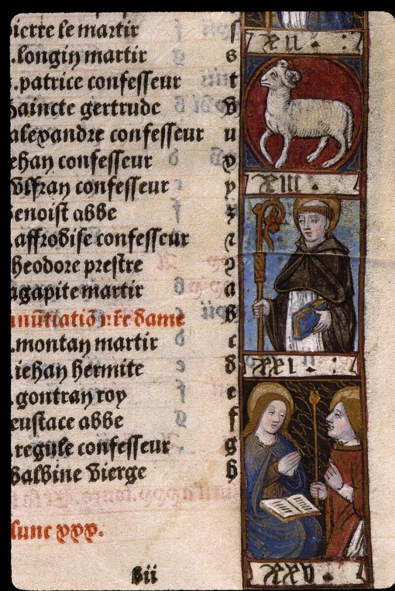 Angers, Bibl. mun., SA 3390, f. 010 - vue 3