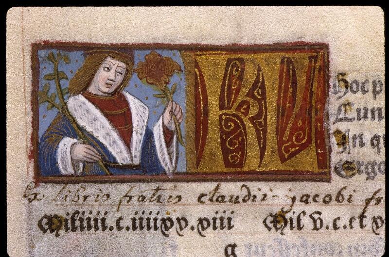 Angers, Bibl. mun., SA 3390, f. 010v - vue 1