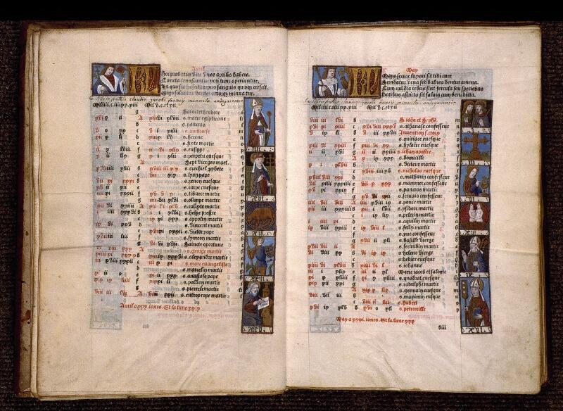 Angers, Bibl. mun., SA 3390, f. 010v-011