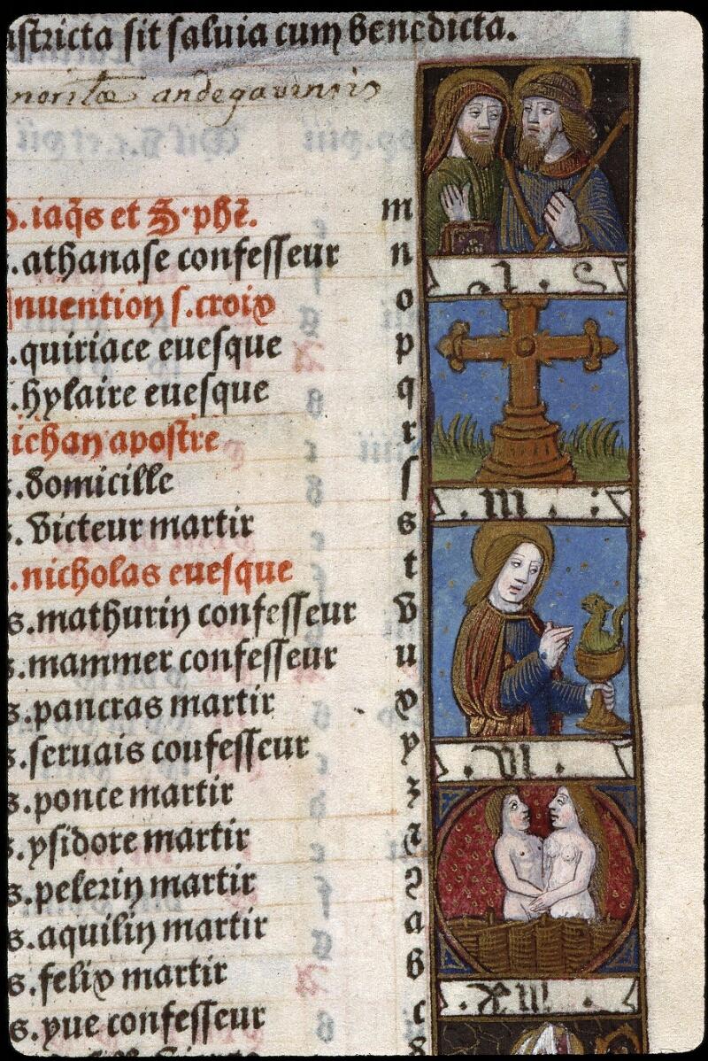 Angers, Bibl. mun., SA 3390, f. 011 - vue 2