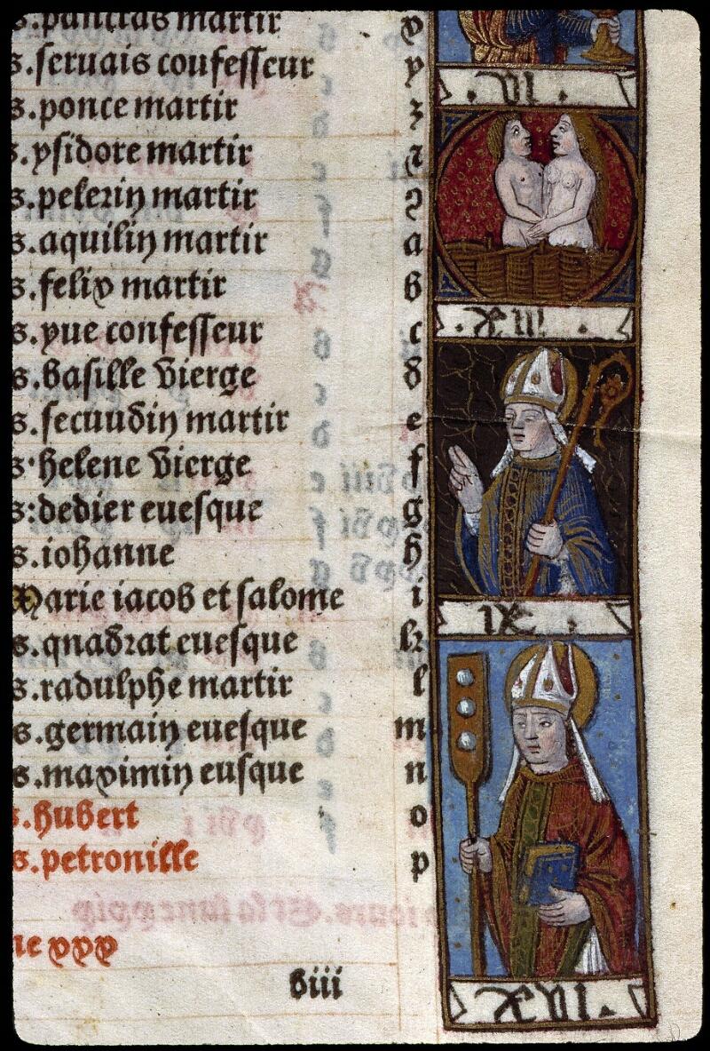 Angers, Bibl. mun., SA 3390, f. 011 - vue 3