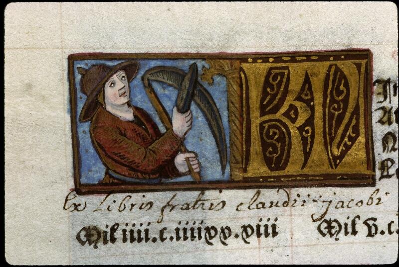 Angers, Bibl. mun., SA 3390, f. 011v - vue 1
