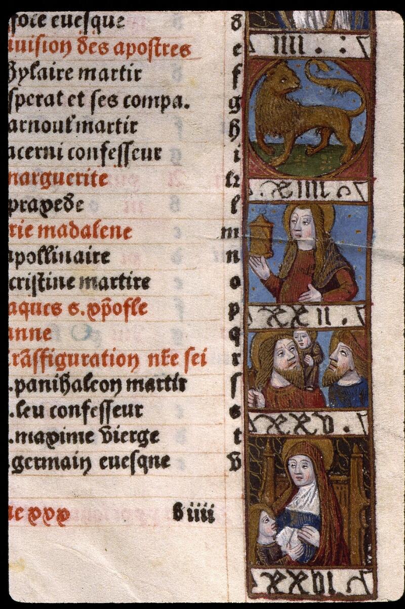 Angers, Bibl. mun., SA 3390, f. 012 - vue 3