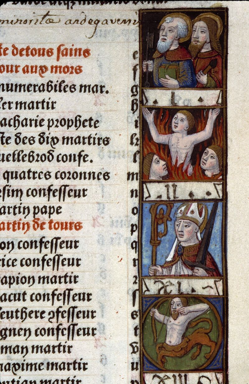 Angers, Bibl. mun., SA 3390, f. 014 - vue 2