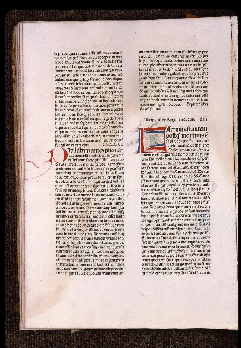Angers, Bibl. mun., T 0095, f. 105v - vue 1
