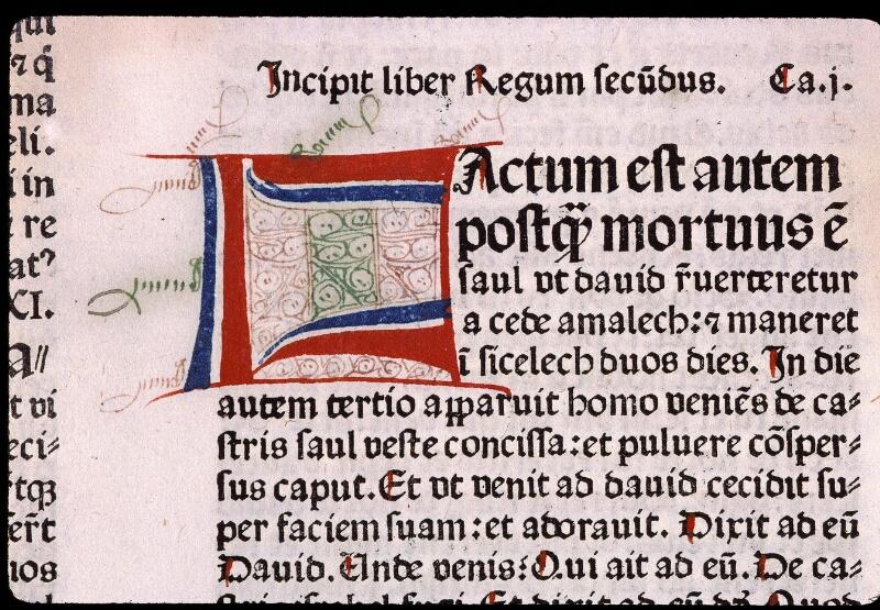 Angers, Bibl. mun., T 0095, f. 105v - vue 2