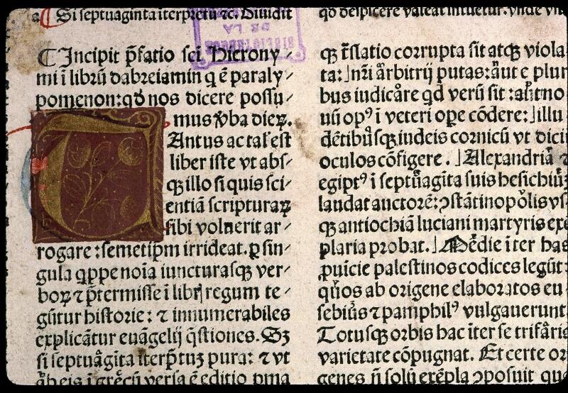 Angers, Bibl. mun., T 0350, t. II, f. 001 - vue 3