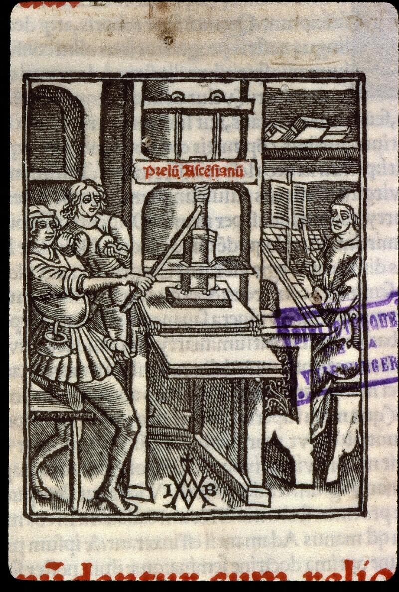 Angers, Bibl. mun., T 0644, t. II, f. 000I - vue 3