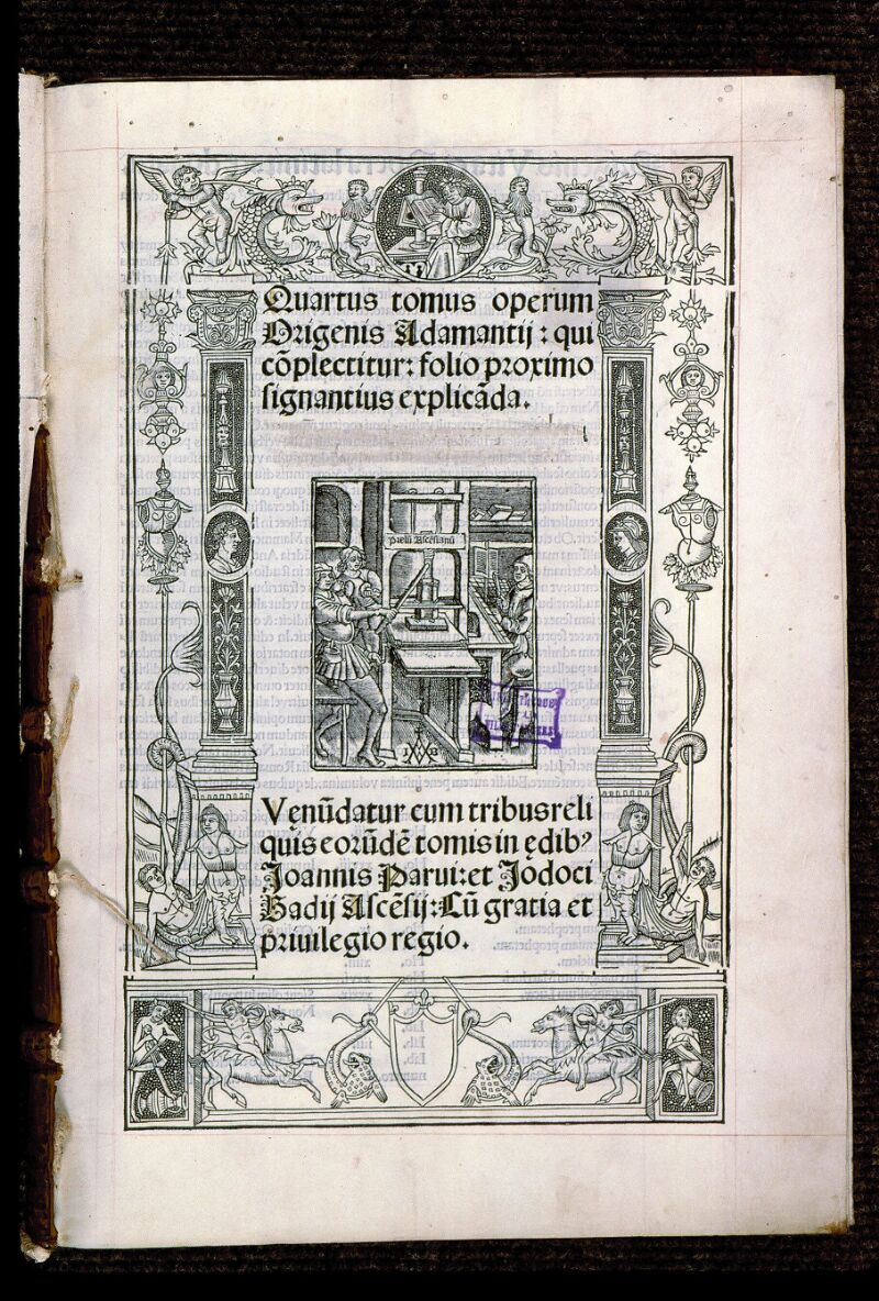 Angers, Bibl. mun., T 0644, t. III, f. 000I - vue 2