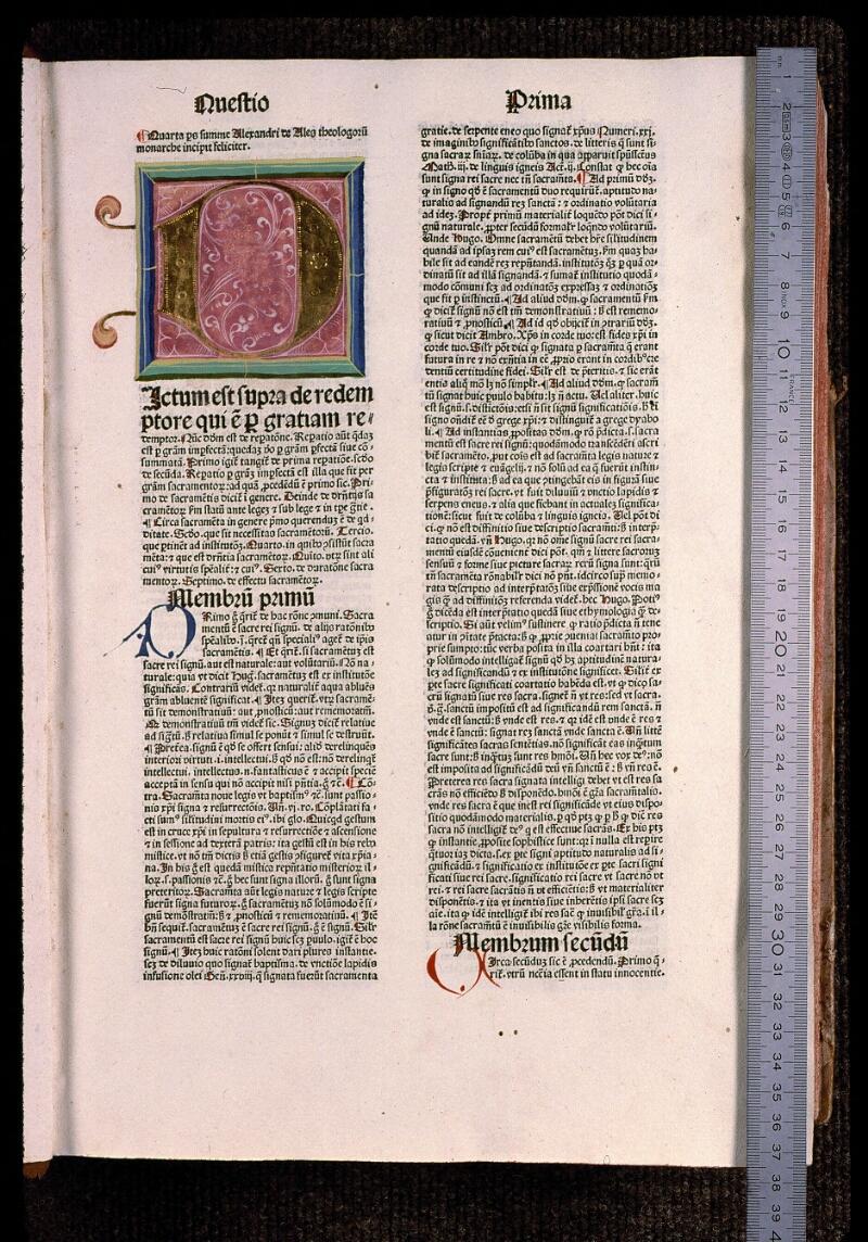 Angers, Bibl. mun., T 0708, t. III, f. 001 - vue 1