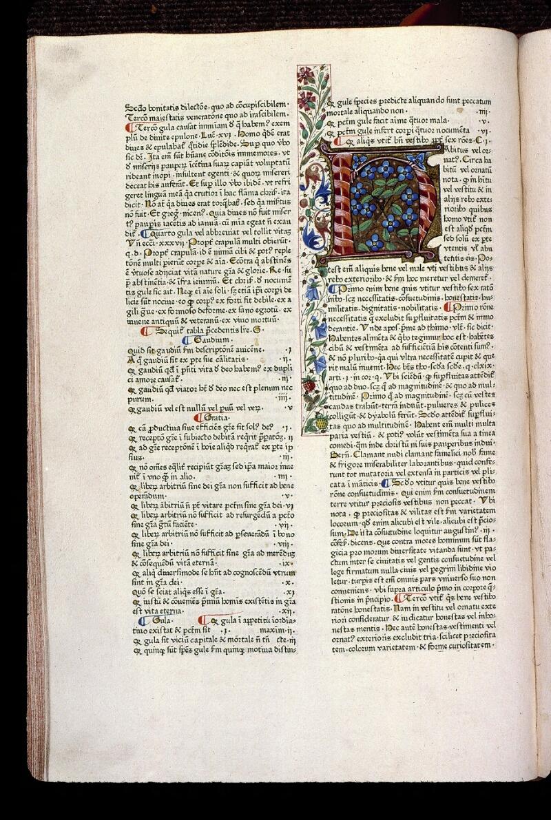 Angers, Bibl. mun., T 0718, t. I, f. 098v - vue 1