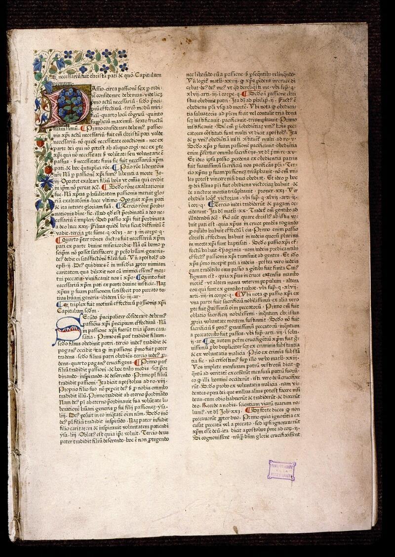 Angers, Bibl. mun., T 0718, t. II, f. 001 - vue 2