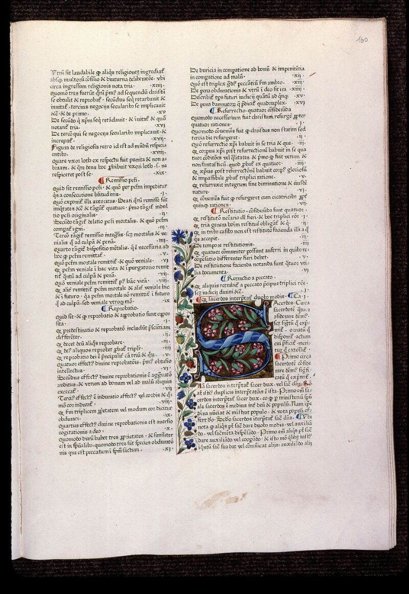Angers, Bibl. mun., T 0718, t. II, f. 160 - vue 1
