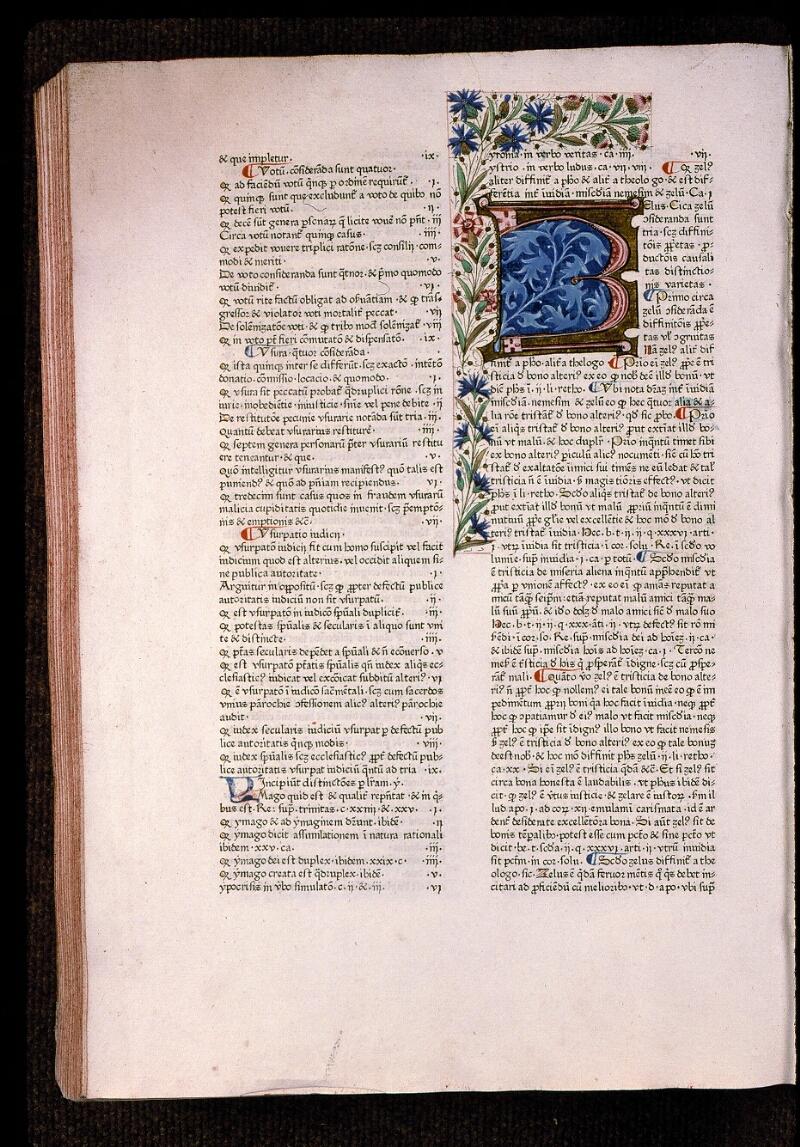 Angers, Bibl. mun., T 0718, t. II, f. 287v - vue 1
