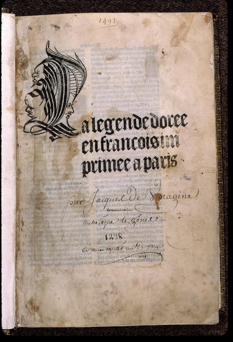 Angers, Bibl. univ. cath., inc. non coté [1], f. 001 - vue 2