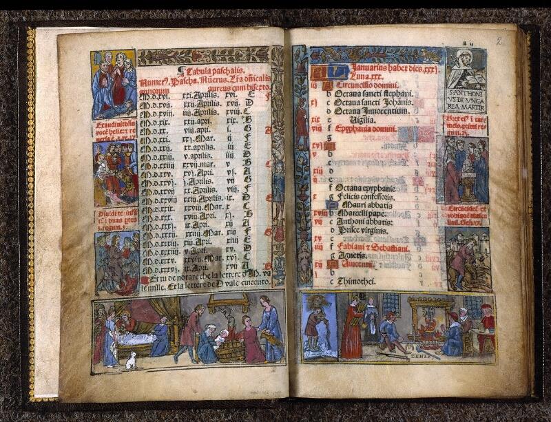 Angers, Bibl. univ. cath., impr. non coté [1], f. 001v-002