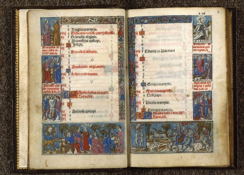 Angers, Bibl. univ. cath., impr. non coté [1], f. 003v-004
