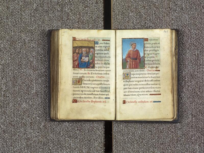 ANGERS, Bibliothèque municipale, 2111, f. 100v - 101