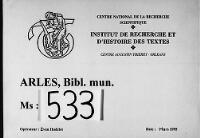 https://iiif.irht.cnrs.fr/iiif/France/Arles/Bibliotheque_municipale/130046201_MS0533/DEPOT/130046201_MS0533_0001/full/200,/0/default.jpg